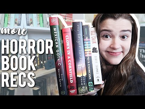 Horror Book Recommendations pt. 2 👻