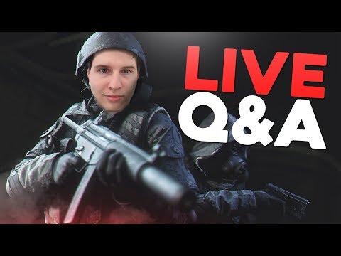 Live Q&A! (Modern Warfare Remastered Stream)