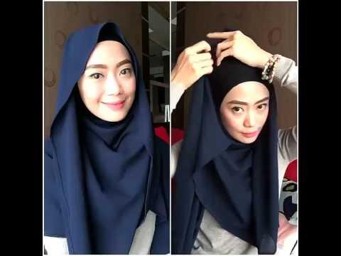 Video Tutorial Hijab Pashmina Emma Queen Youtube