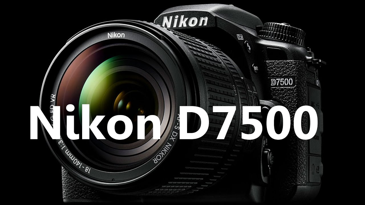 Nikon D7500 Released - Specifications (Hindi)