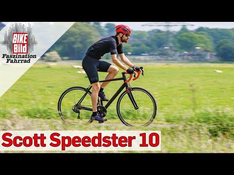 Rennrad unter 1000 Euro im Test: Scott Speedster 10