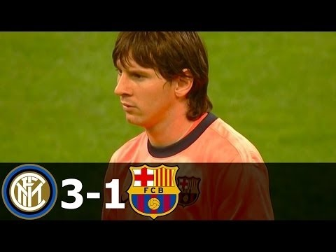 Inter Milan vs FC Barcelona 3-1 Highlights UCL 2009-2010 HD 720p