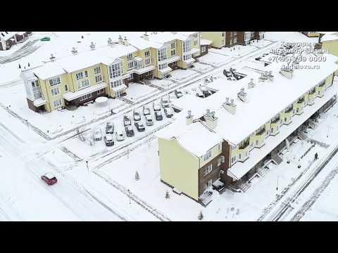 Зима и интерьеры квартир в Ангелово Резиденц