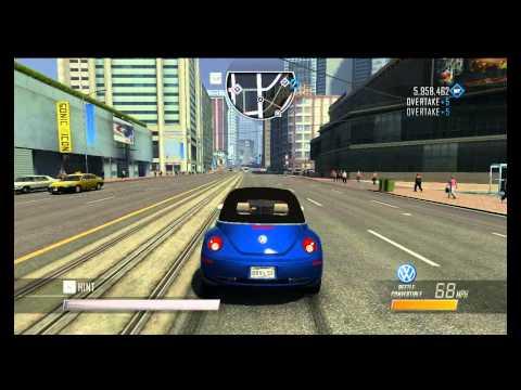 Driver San Francisco HD Test Drive Volkswagen Beetle Convertible