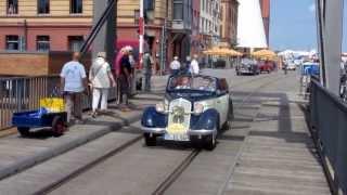 ADAC Deutschland Klassik 2012 in Stralsund - Auto Union DKW F8 Front Luxus Cabriolet