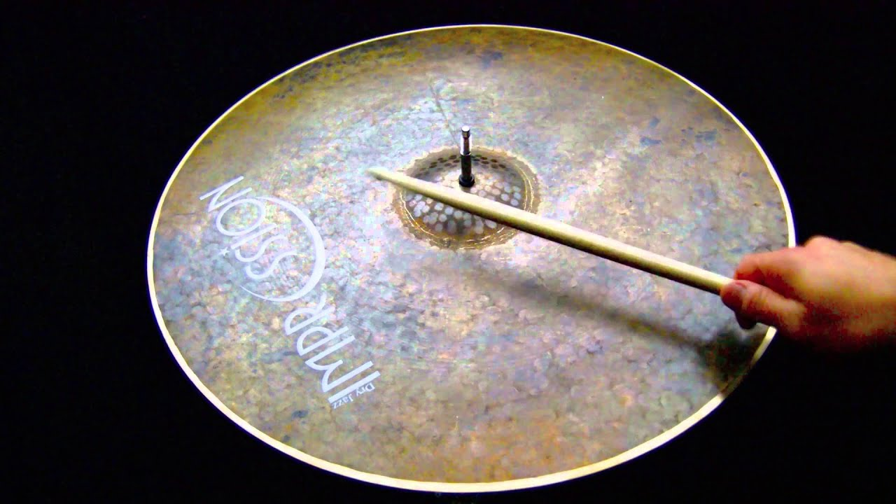impression cymbals dry jazz series 20 crash ride 1702 grams youtube. Black Bedroom Furniture Sets. Home Design Ideas