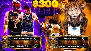 TOXIC LEGEND POST SCORER challenged me for $300 (NBA 2K20)
