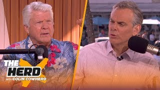 Jimmy Johnson on coaching the Cowboys, Hall of Fame induction   THE HERD   LIVE FROM MIAMI
