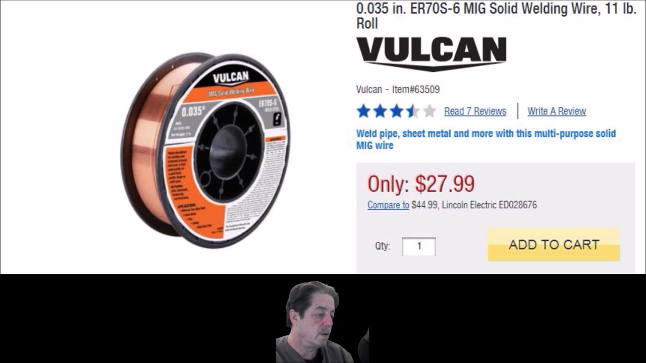 Buying Mig Wire - Review - YouTube