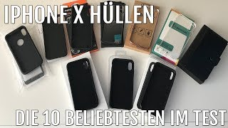 iPhone X - Die 10 beliebtesten Hüllen im Test