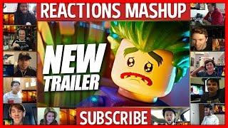 The LEGO Batman Movie Main Trailer Reactions Mashup