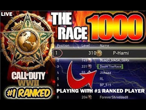 SHOUTOUT STREAM! - WW2 WITH #1 PLAYER IN THE WORLD - Call of Duty WWll