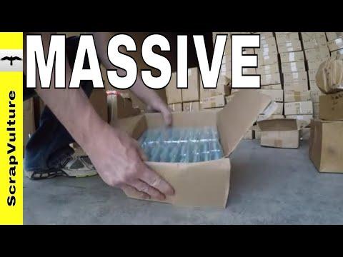 Unboxing $25,000 FISHING LURES - MASSIVE Dumpster Dive Jakpot
