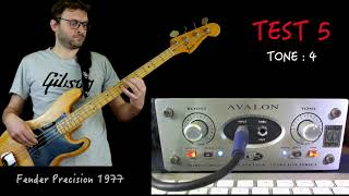 Avalon U5 Bass Test