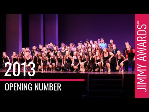 2013 National High School Musical Theater Awards - Jimmy Awards Opening Number