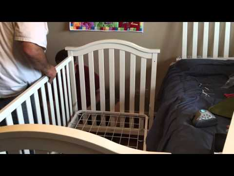 Baby Crib Assembly (Time-lapse)