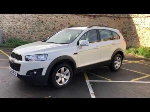 Chevrolet Captiva 7 Seater Automatic 4x4 Dailycars Youtube