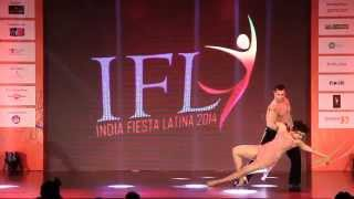 Salsa Show by Sai & Kirthi @ IFL 2014