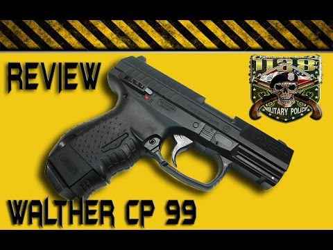 Umarex Walther CP99 Compact CO2 BB Gun Review   FunnyCat TV