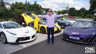 CHASING HYPERCARS! LaFerrari, P1, Carrera GT, Koenigseggs!