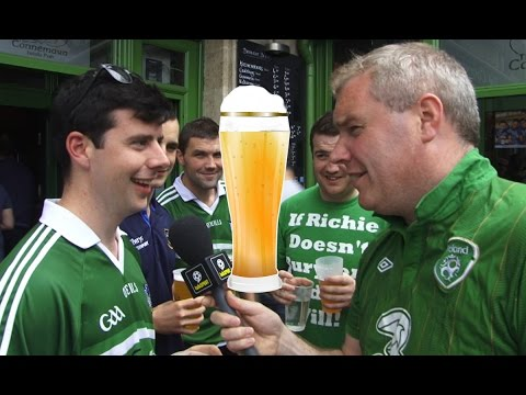 Asking Irish Fans: 'Would You Give Up Drink If Ireland Win Euro 2016?'