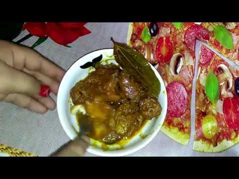 টার্কি মুরগীর মাংস ভুনা || Turkey Murgi Recipe || How To Cook Turkey Curry Recipe