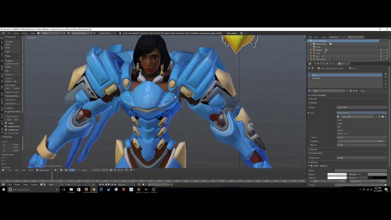 Converting SFM game models into Blender