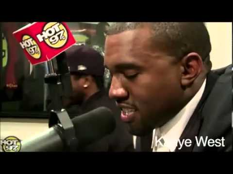Kanye West Says Lil Wayne is the best rapper alive @Hot97 call !