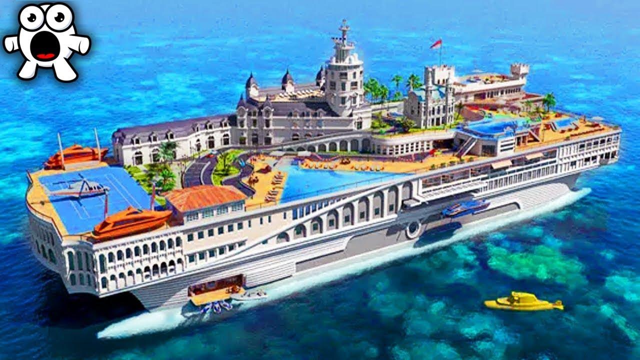 Top 10 Mega Yachts