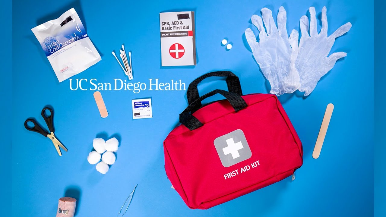 What Should Be in a Home First Aid Kit?