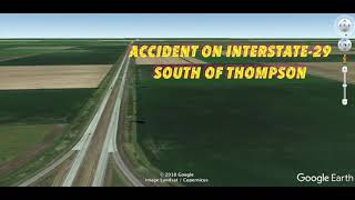BREAKING NEWS: Accident On Interstate-29 South Of Thompson