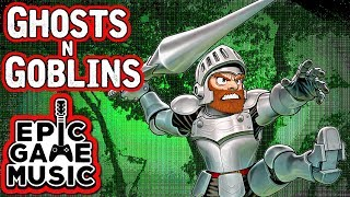 """Ghosts 'n Goblins """"The Haunted Graveyard"""" (Level 1 Theme) Music Video 