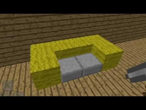 Minecraft Pe Furniture furniture ideas for minecraft pe# - youtube