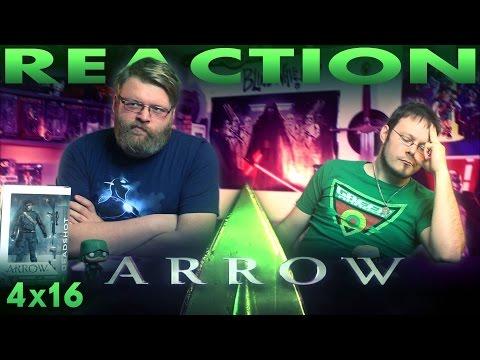 "Arrow 4x16 REACTION!! ""Broken Hearts"""