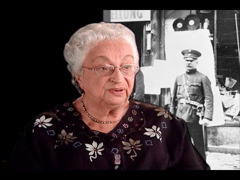 Survivors Remember Kristallnacht: Inge (Berg) Katzenstein and Jill (Gisela Berg) Pauly