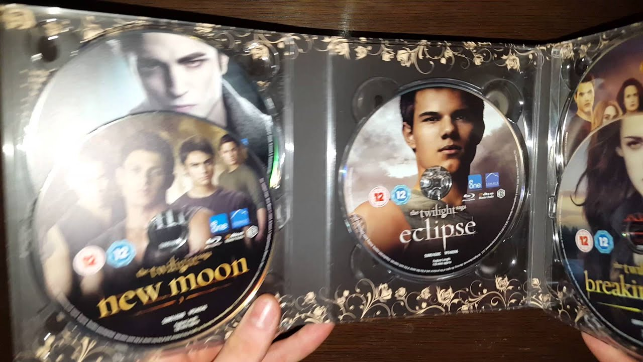 the twilight saga bluray unboxing youtube