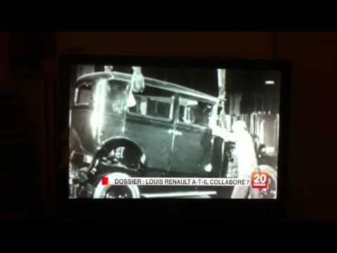 Reportage sur Louis renault jt France 2 du 2mars 2011