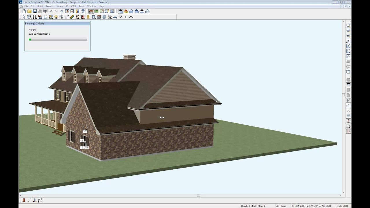 home designer software - custom garage contest - youtube