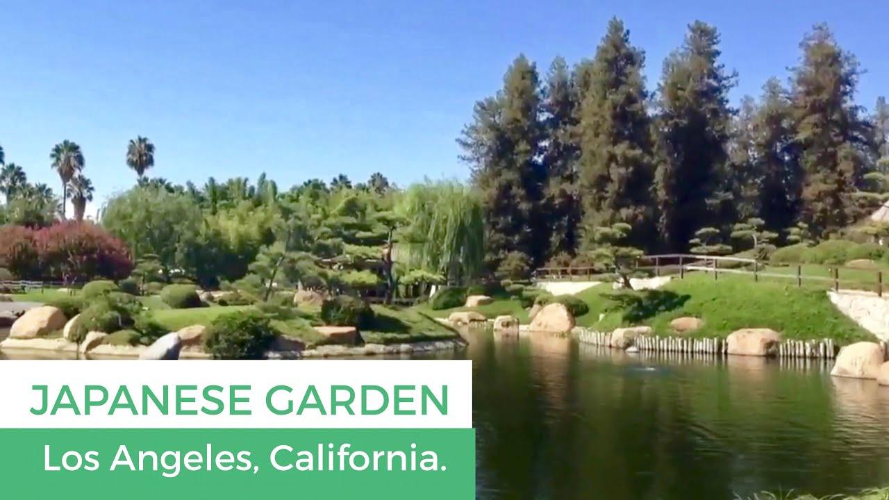 The Japanese Garden In Van Nuys California Youtube