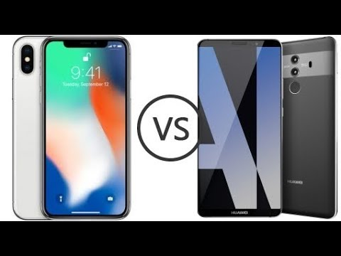 Apple iPhone X VS. Huawei Mate 10 Pro!- Battle of the flagships!