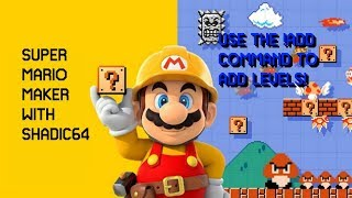 Super Mario Maker Viewer Levels LIVE!! [PG] [ENGLISH] w/ Song Requests & People