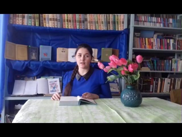 Изображение предпросмотра прочтения – ВиолеттаРоманенко читает произведение «Послушайте! (Послушайте! Ведь, если звезды зажигают…)» В.В.Маяковского