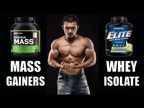 PROTEIN SUPPLEMENT- MASS GAINER OR WHEY ISOLATE(मास गेनर्स का पूरा सच)