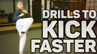 How to Kick Faster | Taekwondo (Martial Arts)