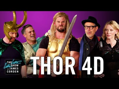 Thor: Ragnarok 4D w the 'Thor' Cast