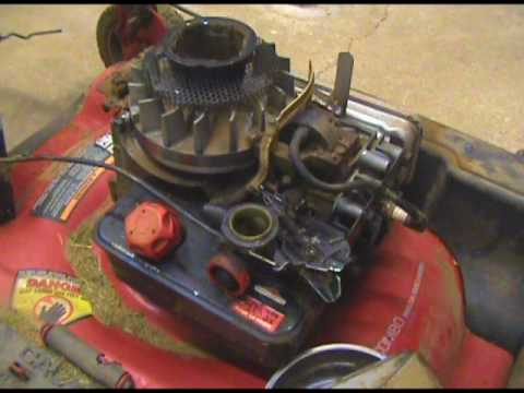 Lawn Mower RPM Adjustment - Briggs and Stratton engine - YouTube
