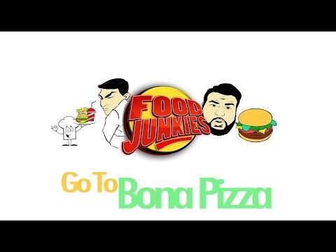 Food Junkies @ Bona Pizza in Dallas Texas