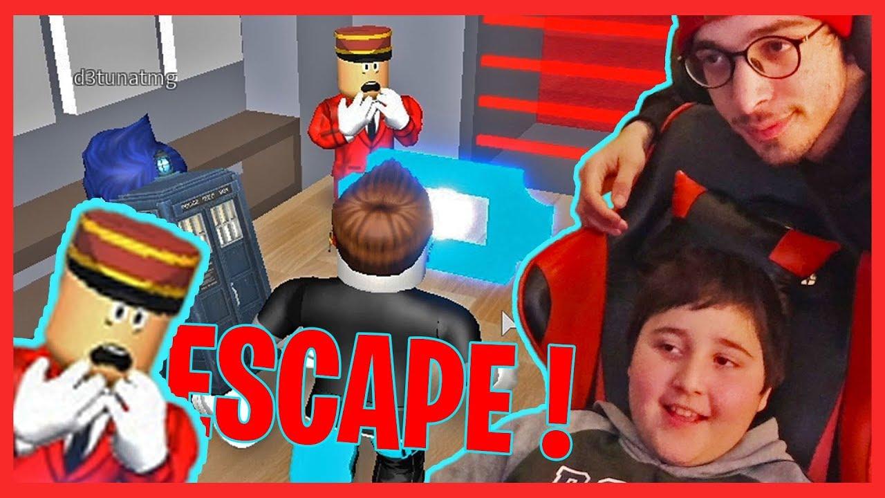 Escape Hotel დათუნასთან ერთად | Roblox