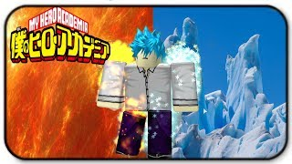 Roblox Boku no Legacy - Half Hot Half Cold Quirk Gameplay - Im Back on My Hero Acedemai