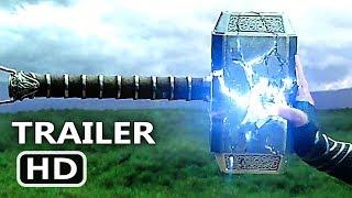 "THOR RAGNAROK ""Mjolnir's DЕАTH"" Trailer (2017) Thor 3 Hammer, Superhero Movie HD"